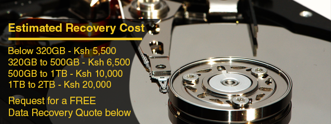 Hard Disk Data Recovery Services in Nairobi