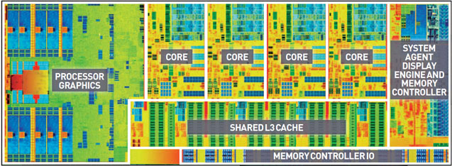 inside a new quad core intel haswell