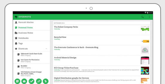 Evernote 6.0 For Android